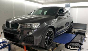 BMW X4 F26 2.0D – Stage1