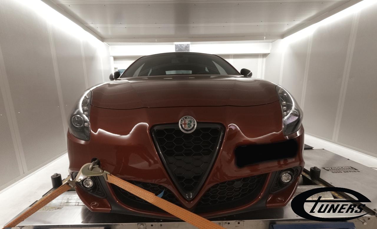 Alfa Romeo Giulietta Veloce 1750 Tct Stage2 98ron Etuners