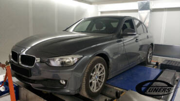 BMW 316i F30 1.6T – Stage1 95RON