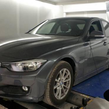 BMW 316i F30 1.6T – Stage1 95RON