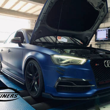 Audi S3 8V 2.0TSI – Stage3 CTS BB-550 hybrid turbo 98RON+wmi