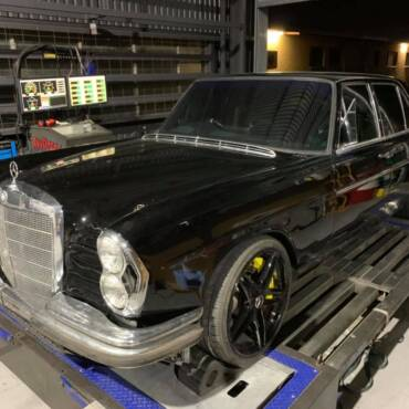 Mercedes C250 W108 MY1968 -> C63S MY2019 swap