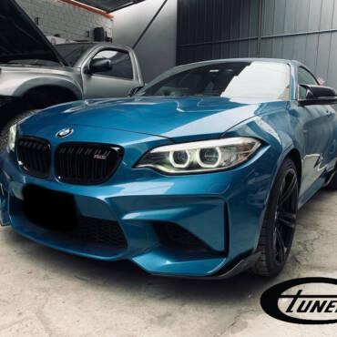 BMW M2 F87 3.0T N55 – Stage2 98RON